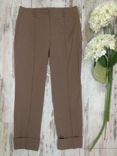 Дамски панталон цвят какао